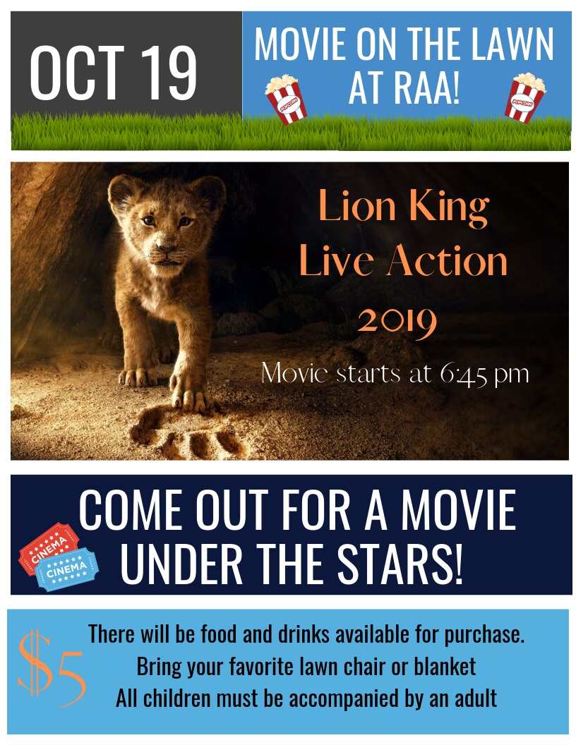Movie on the Lawn October 19