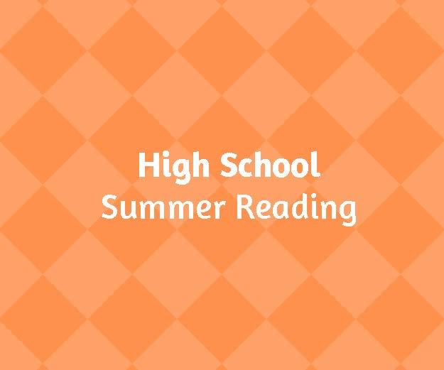 HS Summer Reading